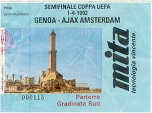 ticket Genoa-Ajax visitors-sector