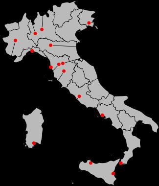 All Serie A-teams 2007-2008