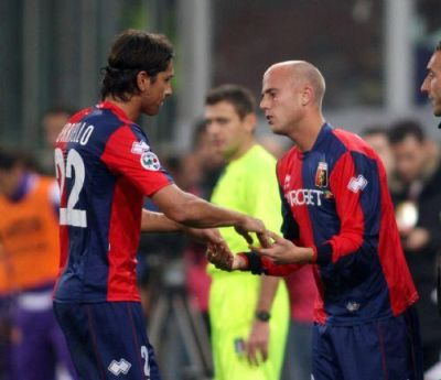 first match of Figueroa, substituting Borriello