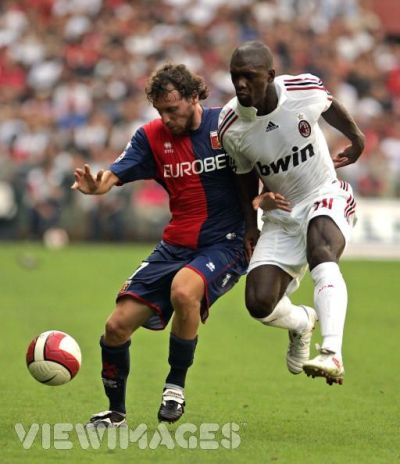Marco Rossi and Dutchman Clarence Seedorf