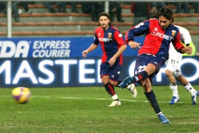 Borriello scores against Parma by penalty