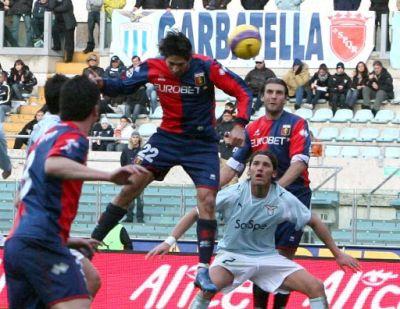 Borriello scores his 10th goal of the season: 1-2