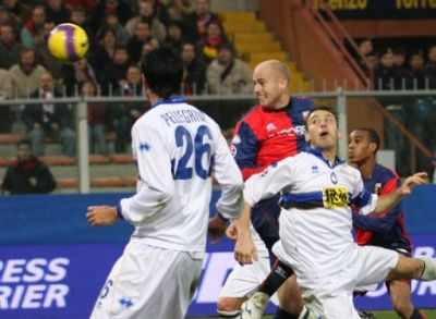 Figueroa scores the winning goal against Atalanta