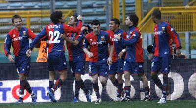 Lazio-Genoa 1-2 (2 goals of Borriello)