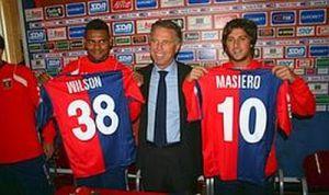 Mr. Preziosi presents Wilson and Masiero