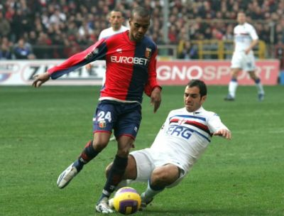 Konko, Genoa's best player in the derby