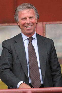 Genoa's president Enrico Preziosi