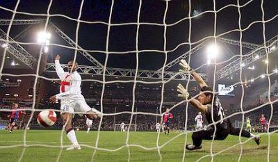 Goal of Suazo