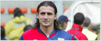 Giovanni Tedesco with Genoa from 2004-2006 (foto Genoa CFC)
