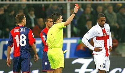 red card Pelè