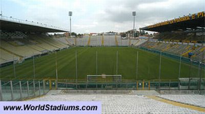 Ennio Tardini stadium of Parma