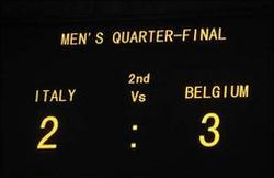 Belgium beats Italy in quarterfinals at Olympic soccer tournament