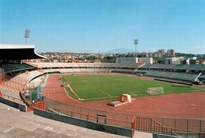 Stadio A. Massimino of Catania (capacity: 30.000)