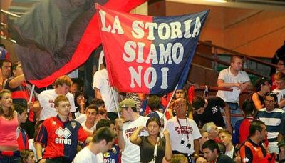 Genoa celebrated their 115th birthday in Luigi Ferraris stadium
