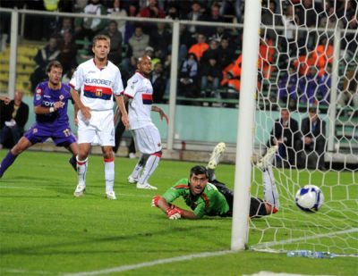 The goal of Alberto Gilardino