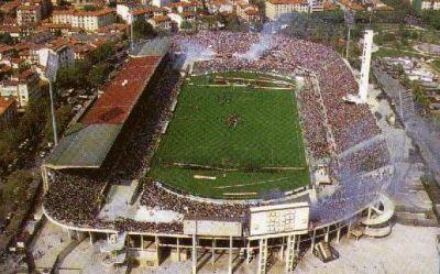 Stadio Artemio Franchi of Florence