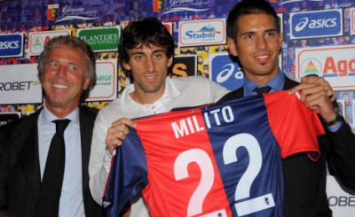 Diego Milito plays with number 22 next season, the number of Marco Borriello last year