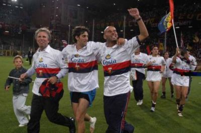 Diego Alberto Milito already played with Genoa from January 2004 till June 2005