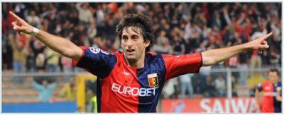 Diego Milito scored again