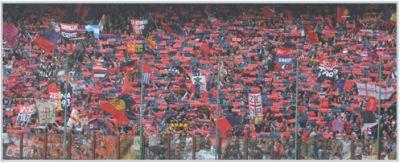Genoa-fans in Giuseppe Meazza during Inter-Genoa 2008-2009