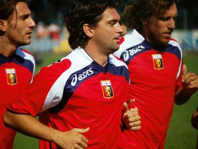 Greco, Milanetto and Rossi are training together with Genoa in July 2008