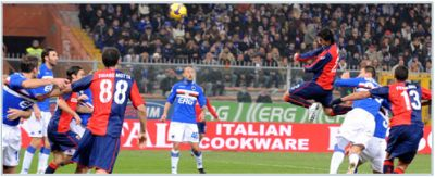 The derby-goal of Air Milito