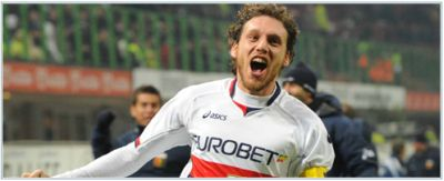 Marco Rossi celebrates his fantastic goal against Inter