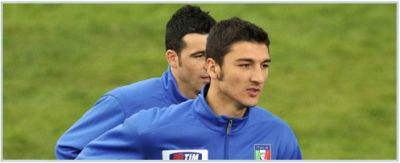Salvatore Bocchetti with only 22 years one of the youngest players in the Italian National team