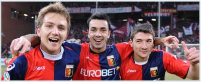 Criscito, Palladino and Bocchetti, 3 young talented Genoa-players