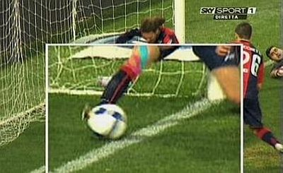 The shot of Balotelli did completely pass the goalline ?!