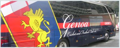 The playerscoach of Genoa