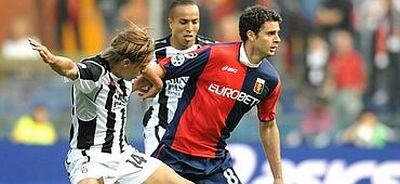 Thiago Motta, 26 years old Brasilian playmaker of Genoa