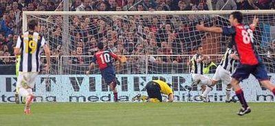 The winning goal of Raffaele Palladino in the 88th minute: 3-2