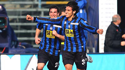Sergio Floccari (nr. 33), our new centre-forward in the season 2009-2010