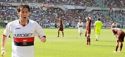 Diego celebrates another goal in Torino