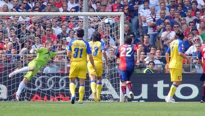 Ruben Olivera scored the second goal against Chievo (17-05-2009)