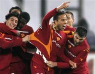 Houssine Kharja scored with A.S. Roma