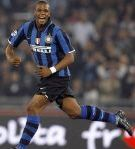 Pelé in the shirt of Inter during the season 2007-2008