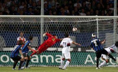 Moretti scores against Atalanta: 0-1
