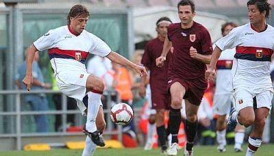 Hernan Crespo and Giuseppe Sculli both scored twice against Pro Vercelli