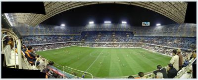 Mestalla-stadium of Valencia