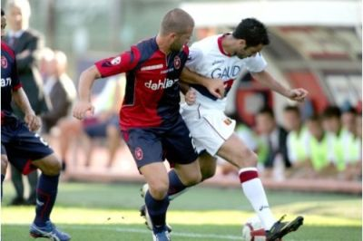 Rafaelle Palladino again was one of the best Genoa-players