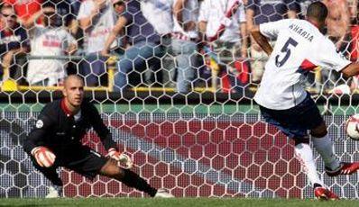 Kharja scored the opening-goal against Bologna
