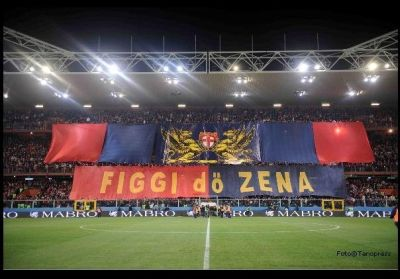 Distinti before Genoa-Sampdoria 3-0 (28-11-2009)