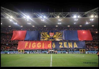Distinti before Genoa-Sampdoria 3-0 (28-11-2009)