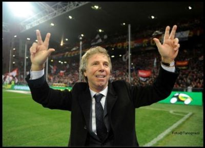 Enrico Preziosi is happy with the 3rd derby-victory in a row