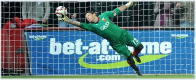 Alessio Scarpi saved Genoa a few times in Prague and was 1 of our best players