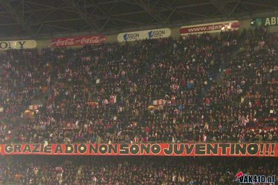 Ajax-Juventus, Europa League 18-02-2010