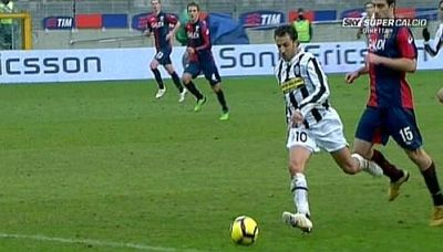 The unreal penalty: if Sokratis already touched Del Piero it was outside the penaltyarea