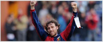 Marco Rossi celebrates his deciding goal against Chievo